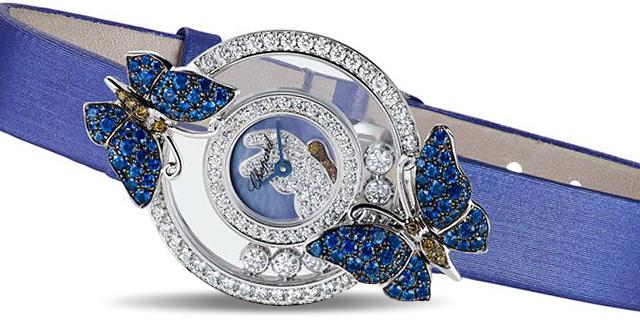 【萧邦钻石手表】赏阅腕表与钻石的不解之缘