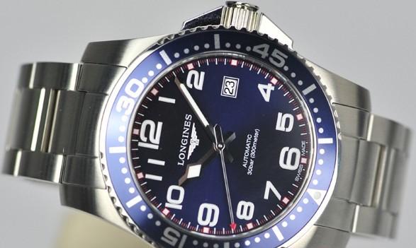 浪琴康纳斯潜水 为热爱和征服海洋的人士量身打造