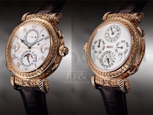 百达翡丽大师弦音腕表:首开制表之先河,尽显高瞻远瞩的风范