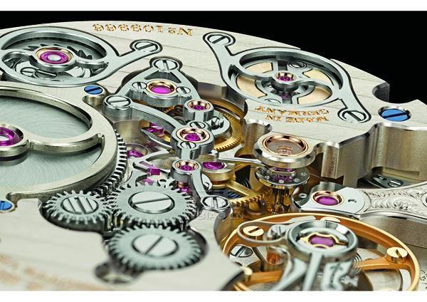朗格首款配备十进制三问报时的朗格腕表——ZEITWERK MINUTE REPEATER_2015 SIHH新品