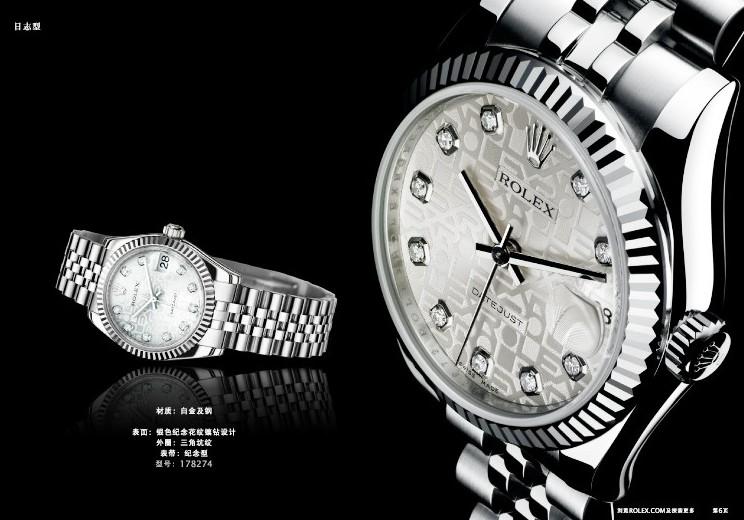 劳力士全钻手表 璀璨夺目,闪耀迷人般风采