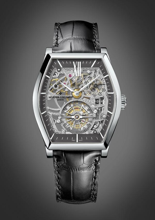 解密光影魅力---江诗丹顿马耳他镂雕陀飞轮手表