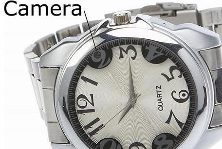 手表摄像机:隐藏在手表里的针孔摄像机