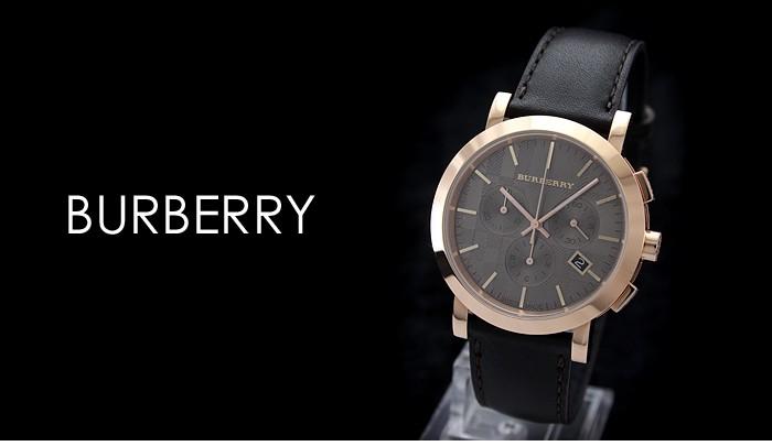 burberry巴宝莉条纹带男士手表图 为你推荐英伦风格的款式