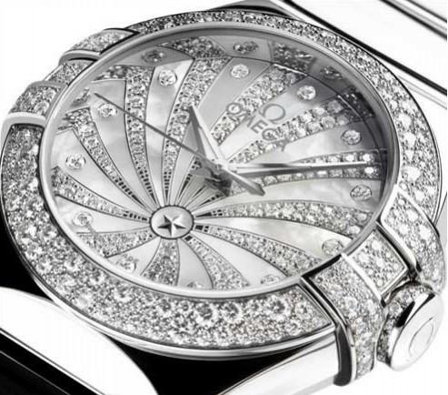 欧米茄星座奢华版 精致设计,尽显尊贵优雅气派