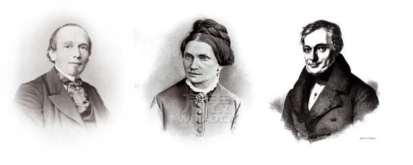 费尔迪南多‧阿道夫‧朗格、其妻子安东尼娅和其丈人约翰‧克里斯迪昂‧菲烈特里西‧古特凯斯的画像