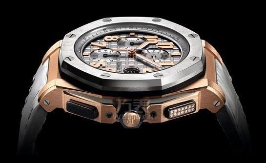 晒命!!小罗狂秀詹姆斯赠送的4万英镑爱彼限量版手表!