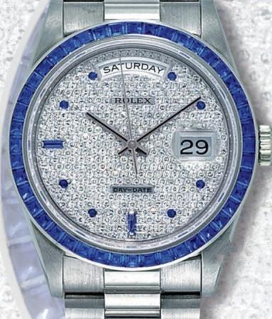 满天星手表价格 为你推荐劳力士经典款式的满天星手表