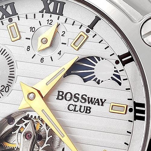 bossway手表怎么样?时尚与成功的代言人