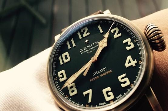 新款真力时飞行员系列Type 20青铜腕表推荐