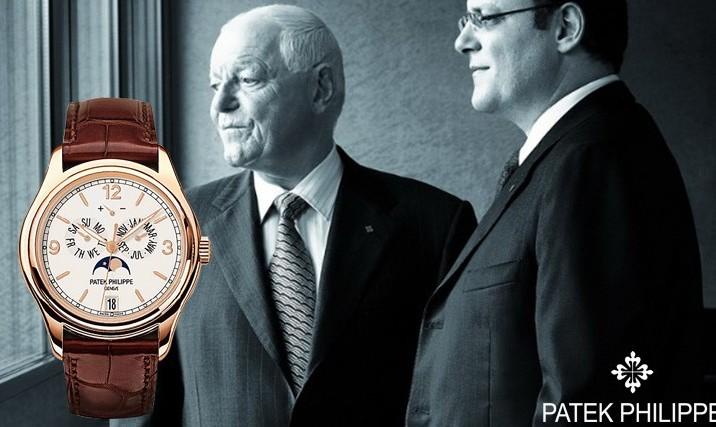 百达翡丽手表推荐:只不过是在为下一代保管