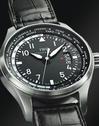 万国(IWC)飞行员系列世界时间腕表