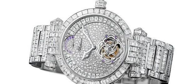 时间惊艳之谜 解密钻石腕表镶嵌工艺