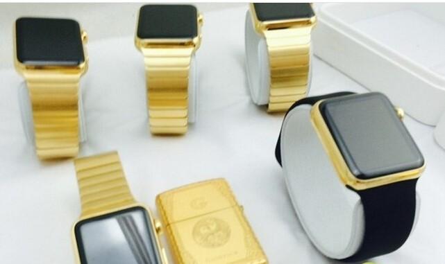 LV手表视Apple Watch土豪金为竞争对手
