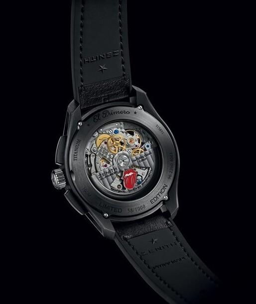 传奇永恒 真力时推出1969滚石乐队纪念腕表