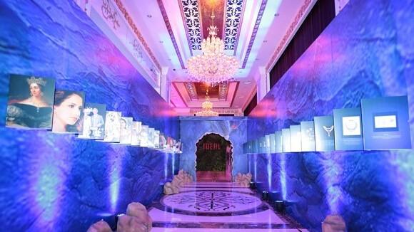 爱迪尔珠宝第十届总裁峰会在深圳东部华侨城国际宴会厅隆重揭幕