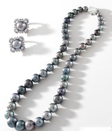 现存最顶级的极品灰珍珠项链将现身香港苏富比