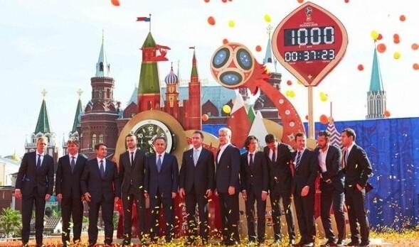 俄罗斯世界杯开幕式倒计时:宇舶表揭幕世界杯官方倒计时钟