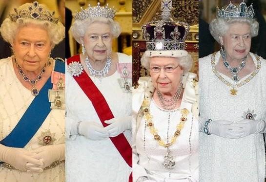 英女王到底有多少库存王冠藏品?带你认识一下英国女王的王冠