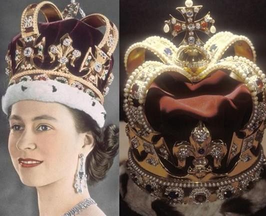 这个王冠专门用于新君主的加冕礼,同时也是伊丽莎白二世加冕使用的王冠