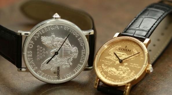 CORUM50周年纪念版钱币腕表