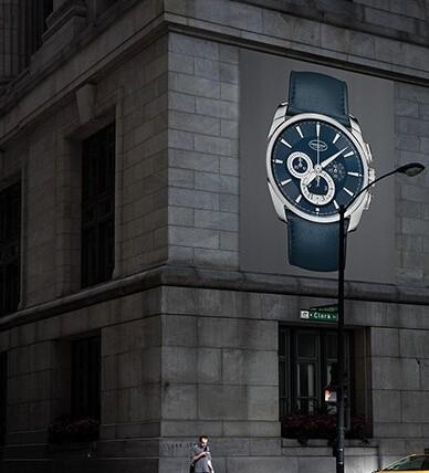 寻找深邃蓝 帕玛强尼Tonda Métrographe腕表
