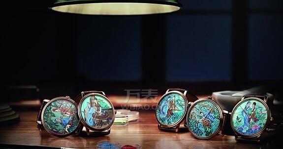 挑战中国传奇 宝珀用5块表讲完梁祝故事