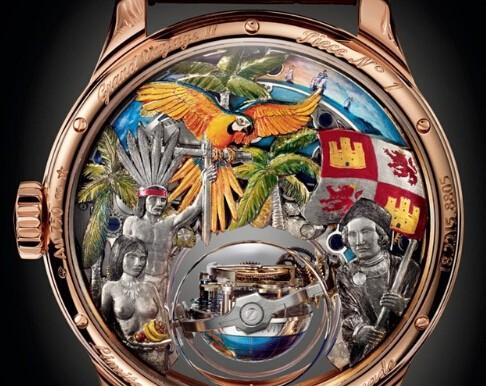 从一块腕表看大航海时代和南美解放革命