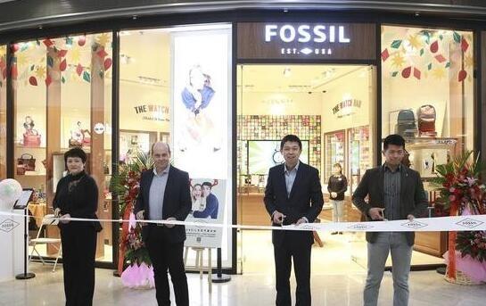 时尚品牌Fossil在北京举行了一场规模盛大的新店开业活动