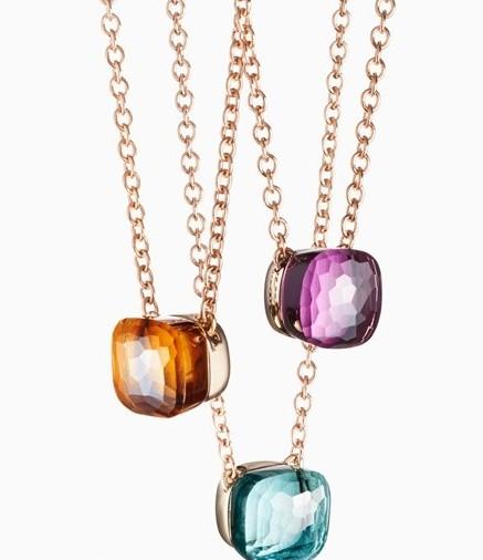 绽放优雅斑斓的迷人魅力 宝曼兰朵Nudo系列珠宝葡萄吊坠