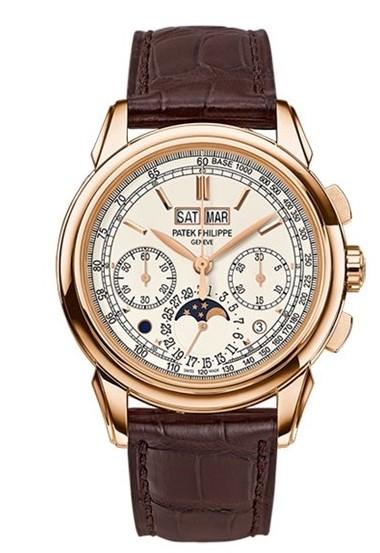 对完美的追求,百达翡丽全新玫瑰金款腕表