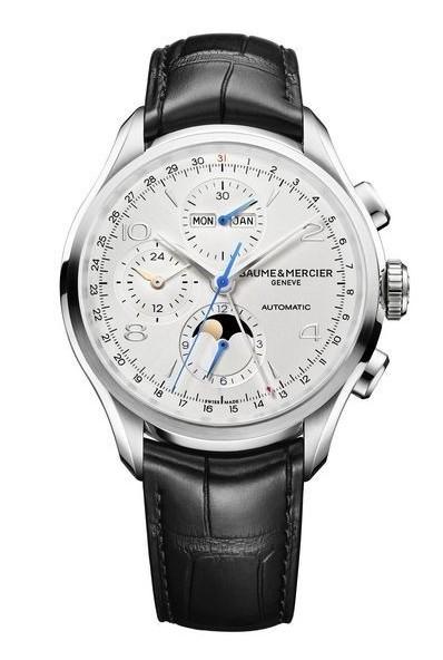 克里顿系列全历计时腕表 融合典雅设计与高级制表工艺