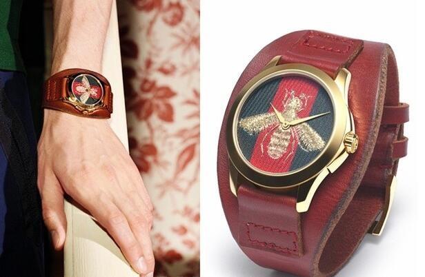GUCCI G-TIMELESS系列全新腕表融入蜜蜂元素