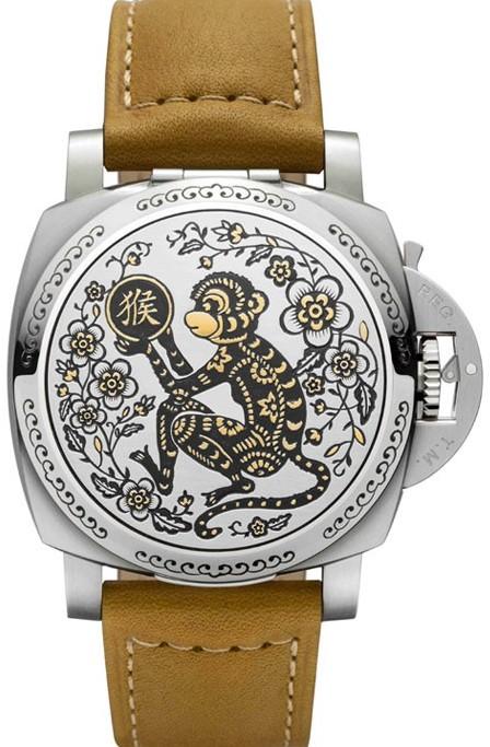 沛纳海推出全新猴年限量版生肖腕表