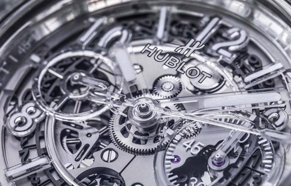 2016巴塞尔表展新品 宇舶表Big Bang Unico蓝宝石腕表