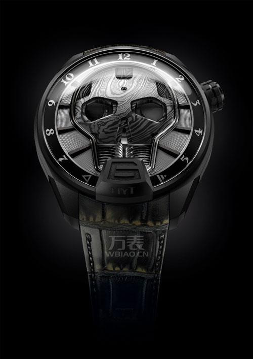 """HYT推出Skull腕表的黑暗""新款 仅限量50枚"