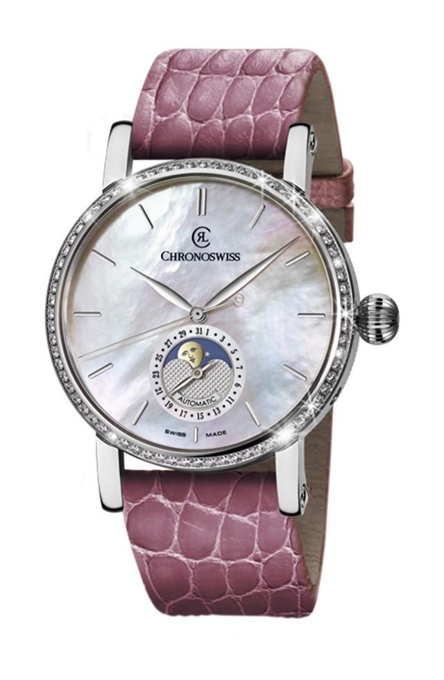 每日一毒 瑞宝表新版天狼星全钻月相腕表