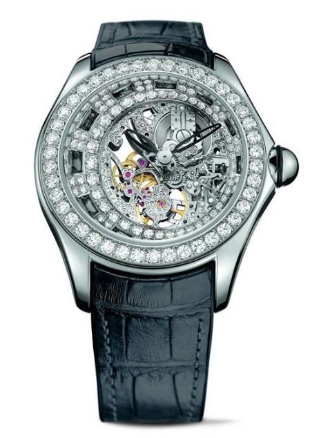 昆仑表全新Bubble 高级珠宝镂空腕表
