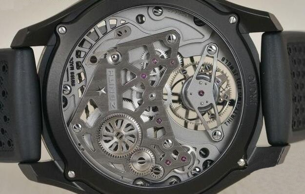酷黑机械 真力时Academy Tourbillon Georges Favre-Jacot腕表赏析