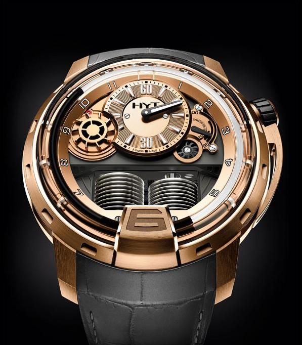 HYT推出H1 Full Gold腕表探索高贵材质的腕表领域