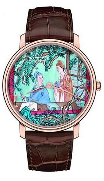 宝珀发布「梁祝」微绘珐琅高定腕表