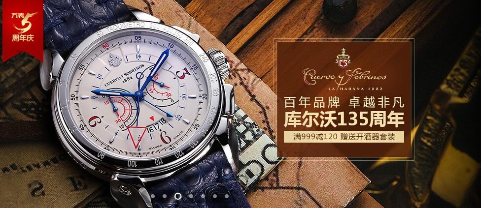 万表网5周年庆:带你走进库尔沃的手表世界