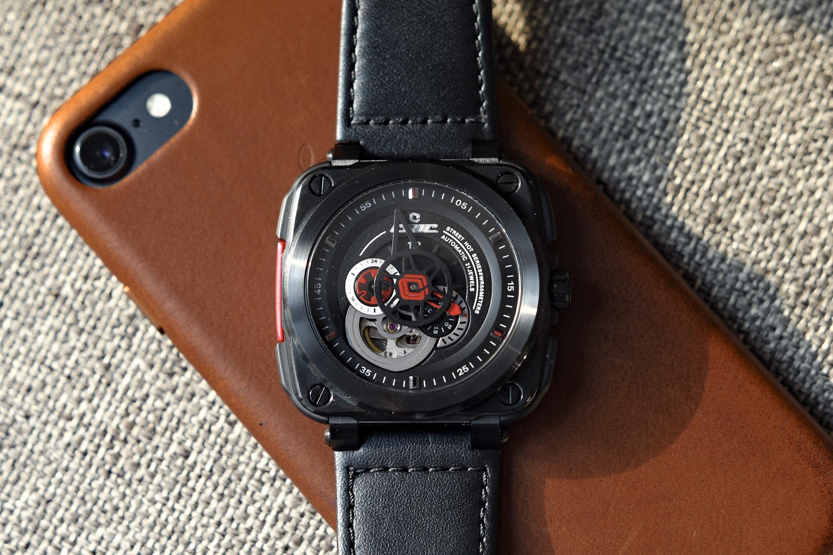 高颜值:CHIC WATCH驰客机械手表晒单