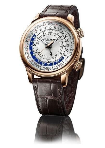 萧邦L.U.C Time Traveler One世界时间腕表和你一起遨游寰宇