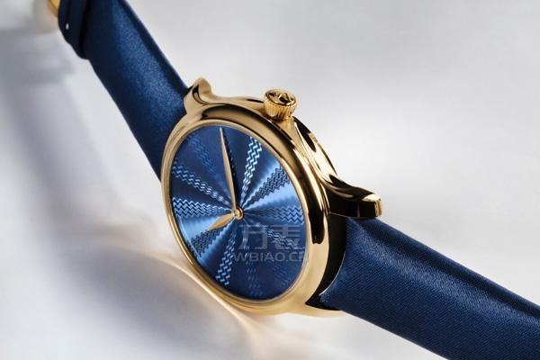 亨利慕时推出勇创者大三针Guilloché概念限量款腕表
