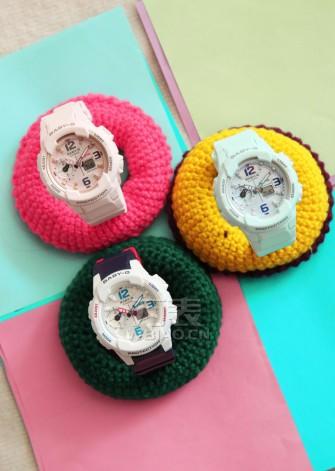 卡西欧BABY-G春季新款腕表登场,陪你玩转春色