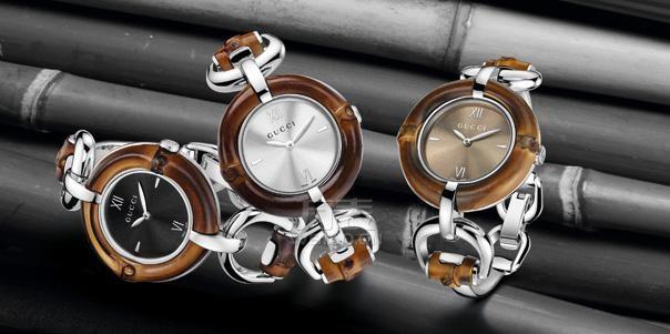 GUCCI手表推出2012情人节U-PLAY系列新款,红色的Guccissima皮表带手表