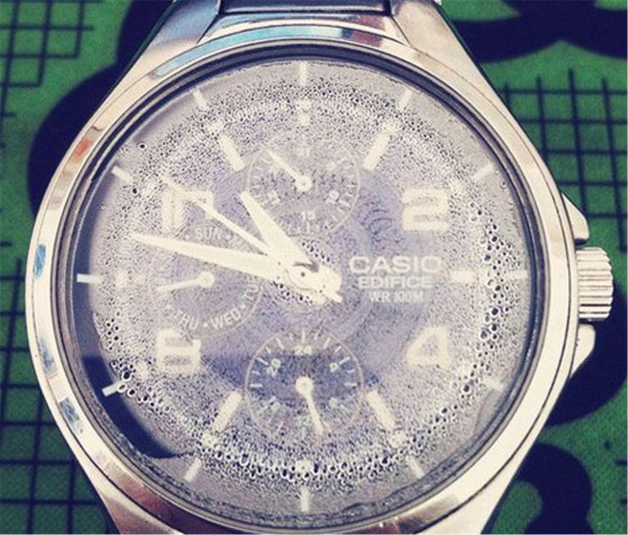 机械表受磁什么症状_表现,手表进水、有雾受磁怎么办?