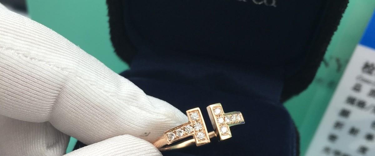 蒂芙尼戒指价格_蒂芙尼T系列戒指