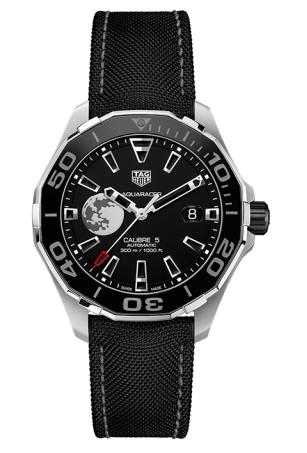 泰格豪雅竞潜系列300米尼龙表带机械表价格、图片、性能分享
